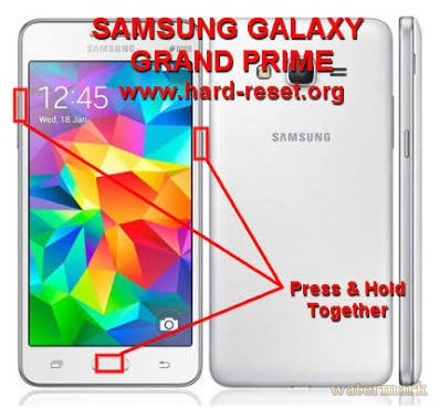 Samsung grand prime hard reset